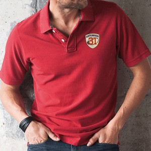 POLO HOMME VINTAGE MANCHES COURTES